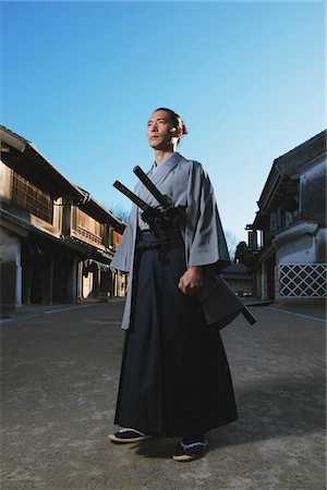 Samurai Stock Photo - Rights-Managed, Code: 859-03884790