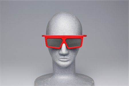 3-D glasses Stock Photo - Rights-Managed, Code: 859-03885046