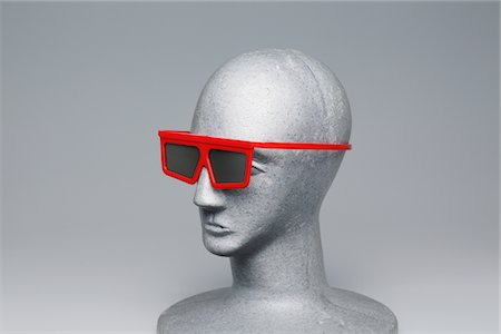 3-D glasses Stock Photo - Rights-Managed, Code: 859-03885047