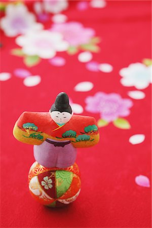 Japanese Traditional Figurine on a Ball Stock Photo - Rights-Managed, Code: 859-03885576