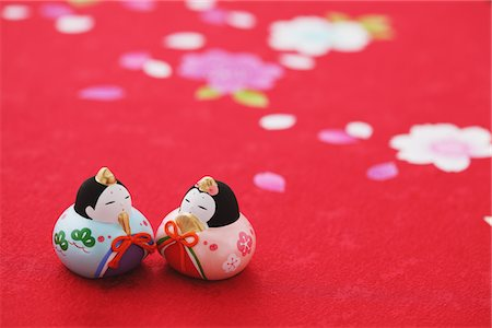 Japanese Traditional Figurines Stock Photo - Rights-Managed, Code: 859-03885573