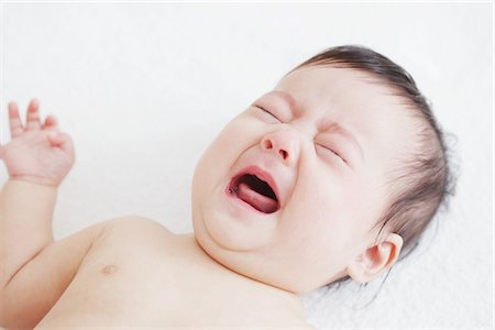 sad girls - Baby Girl Crying Stock Photo - Rights-Managed, Code: 859-03982711