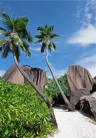 seychelles - Source D'Argent,La Digue,Seychelles. Stock Photo - Rights-Managed, Code: 851-02962649
