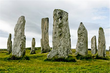 Callanish standing stones,Outer Hebrides,Scotland Stock Photo - Rights-Managed, Code: 851-02963932