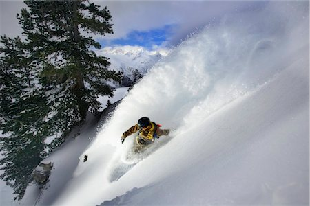 sports and snowboarding - Snowboarder Stock Photo - Rights-Managed, Code: 853-05840900