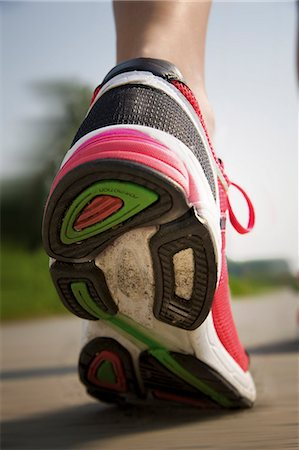sole - Trainers, close-up Stock Photo - Rights-Managed, Code: 853-06441488