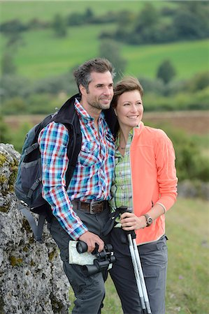 Couple on a hiking tour Stock Photo - Rights-Managed, Code: 853-07241838