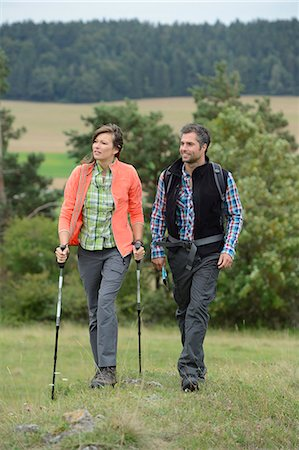 Couple on a hiking tour Stock Photo - Rights-Managed, Code: 853-07241833