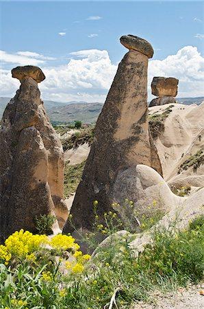 Rock columns, Cappadocia, Anatolia, Turkey, Asia Stock Photo - Rights-Managed, Code: 853-07241874