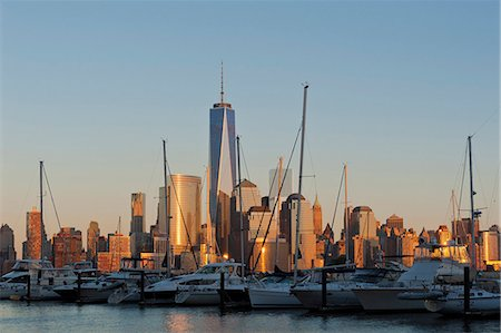 Skyline of Manhattan, New York, USA Stock Photo - Rights-Managed, Code: 853-07451057