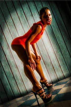 sexi women full body - Woman shouting, full shot Stock Photo - Rights-Managed, Code: 853-02914330