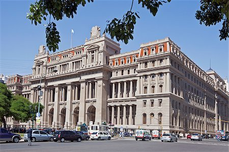 people in argentina - The Supreme Court, Palacio de Tribunales, beside Plaza Lavalle. The cornerstone of this Greco-Roman architectural style building was laid in 1904. Stock Photo - Rights-Managed, Code: 862-05996682