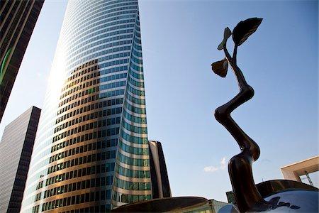 Tour EDF tower at La Defense, Paris, Ile de France, France, Europe Stock Photo - Rights-Managed, Code: 862-05997715