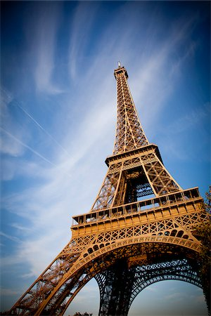 Eiffel Tower, Paris, France, Europe Stock Photo - Rights-Managed, Code: 862-05997733