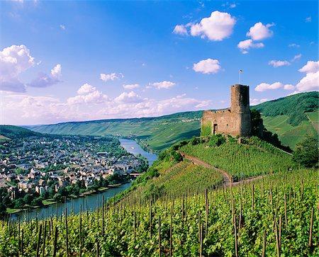 Germany, Rhineland-Palatinate, Landshut casle Stock Photo - Rights-Managed, Code: 862-05997787