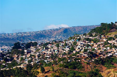 Central America, Honduras, Tegucigalpa (capital city); suburban houses Stock Photo - Rights-Managed, Code: 862-05997863