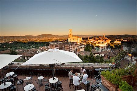 european cafe bar - Italy, Umbria, Perugia district, Perugia. Stock Photo - Rights-Managed, Code: 862-05998142