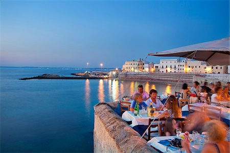 Italy, Puglia, Lecce district, Salentine Peninsula, Salento, Santa Gallipoli Stock Photo - Rights-Managed, Code: 862-05998158