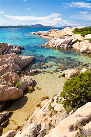 Italy, Sardinia, Olbia-Tempo, Monte Petrosu. The coast near Monte Petrosu. Stock Photo - Rights-Managed, Code: 862-05998246