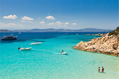 Italy, Sardinia, Olbia-Tempo, La Maddalena Archipelago, Spargi Island. Stock Photo - Rights-Managed, Code: 862-05998242