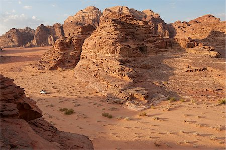 Travelling by jeep in the Wadi Rum, Jordan Stock Photo - Rights-Managed, Code: 862-05998276