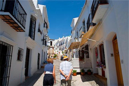 Town of Frigiliana, Andalusia, Spain Stock Photo - Rights-Managed, Code: 862-05999354