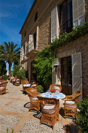 Hotel La Residencia, Deia, Deya, Majorca, Balearic Islands, Spain Stock Photo - Rights-Managed, Code: 862-05999432