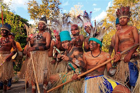 South America, Brazil, Miranda, Terena indigenous people from the Brazilian Pantanal Stock Photo - Rights-Managed, Code: 862-06540983