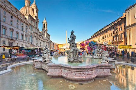 festive - Piazza Navona, christmas fair, Rome, Lazio, Italy, Europe. Stock Photo - Rights-Managed, Code: 862-06541992