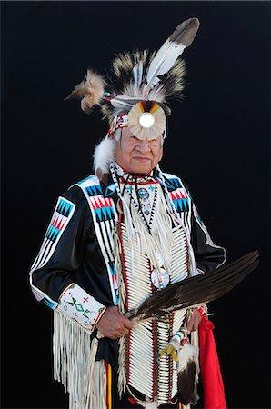 Native Indian Man, Lakota South Dakota, USA MR Stock Photo - Rights-Managed, Code: 862-06543402