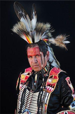 Native Indian Man, Lakota South Dakota, USA MR Stock Photo - Rights-Managed, Code: 862-06543403