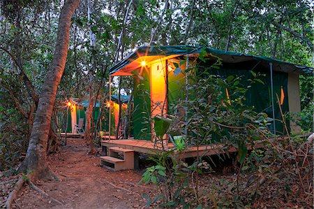 South America, Brazil, Mato Grosso, Pantanal, the Pantanal Nature jaguar camp in Porto Jofre in the Parque Estadual Encontro das Aguas Stock Photo - Rights-Managed, Code: 862-06675892