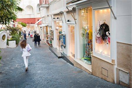 street - Italy, Campania, Napoli district, Capri. shopping. Stock Photo - Rights-Managed, Code: 862-06676896