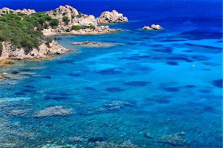 Italy, Sardinia, Olbia Tempio district, Parco Nazionale Arcipelago di la Maddalena. La Maddalena. cala Spalmatore Stock Photo - Rights-Managed, Code: 862-06676987