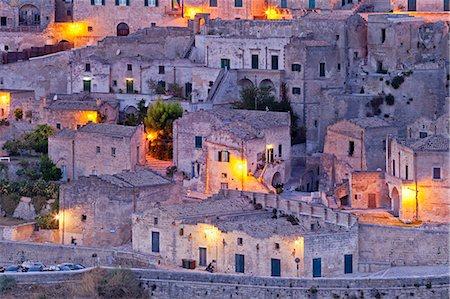 europe - Italy, Basilicata, Matera district, Matera, Sassi di Matera, meaning stones of Matera, Stock Photo - Rights-Managed, Code: 862-06677089