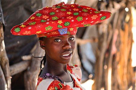 Herero tribal girl portrait, Damaraland, Namibia, Africa Stock Photo - Rights-Managed, Code: 862-06677176