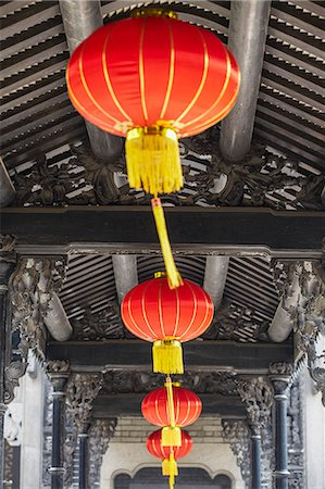Lanterns at Chen Clan Academy, Guangzhou, Guangdong, China Stock Photo - Rights-Managed, Code: 862-06825167