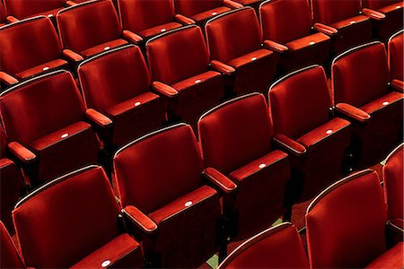 red chair - Europe, England, London, Hammersmith, Lyric Theatre Stock Photo - Rights-Managed, Code: 862-06825345