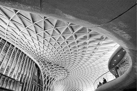 estructura - Europe, England, London, King's Cross Station Foto de stock - Con derechos protegidos, Código: 862-06825351