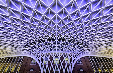 estructura - Europe, England, London, King's Cross Station Foto de stock - Con derechos protegidos, Código: 862-06825352