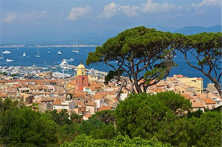 french (places and things) - Saint Tropez, Var, Cote d'Azur, Provence-Alpes-Cote d'Azur, France Stock Photo - Rights-Managed, Code: 862-06825543