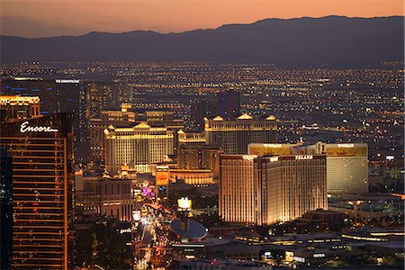 The Las Vegas Strip,Las Vegas, Clark County, Nevada, USA Stock Photo - Rights-Managed, Code: 862-06826304
