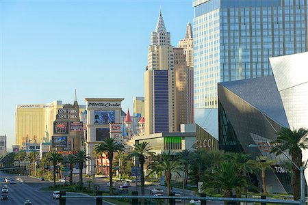 Las Vegas Boulevard,The Strip,Las Vegas, Clark County, Nevada, USA Stock Photo - Rights-Managed, Code: 862-06826316