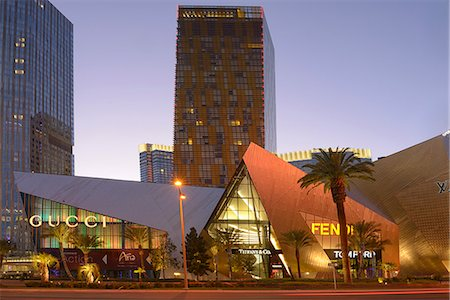 City Center on the Las Vegas Strip,Las Vegas, Clark County, Nevada, USA Stock Photo - Rights-Managed, Code: 862-06826311