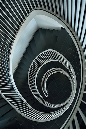 patterned - Spiral staircase, St.Gallen, Switzerland, Europe Stock Photo - Rights-Managed, Code: 862-07496308