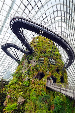 South East Asia, Singapore, Gardens by the Bay, Botanic Garden in the Cloud Forest, Stockbilder - Lizenzpflichtiges, Bildnummer: 862-07690837