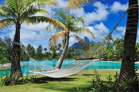 Saint Regis Bora Bora Resort, Bora Bora, French Polynesia, South Seas PR Stock Photo - Rights-Managed, Code: 862-07909711