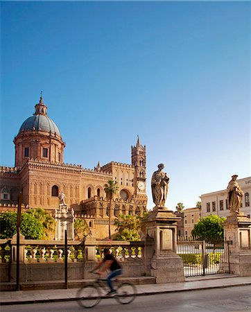 Italy, Sicily, Palermo. The Cathedral. Stock Photo - Rights-Managed, Code: 862-07910137