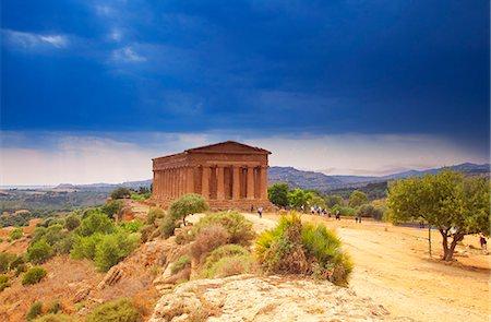 Italy, Sicily, Agrigento. UNESCO Stock Photo - Rights-Managed, Code: 862-07910142
