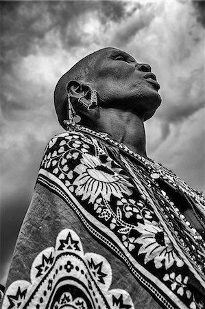 Africa, Kenya, Narok County, Masai Mara. Maasai Women. Stock Photo - Rights-Managed, Code: 862-08090834